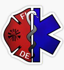 Fire Medic Sticker