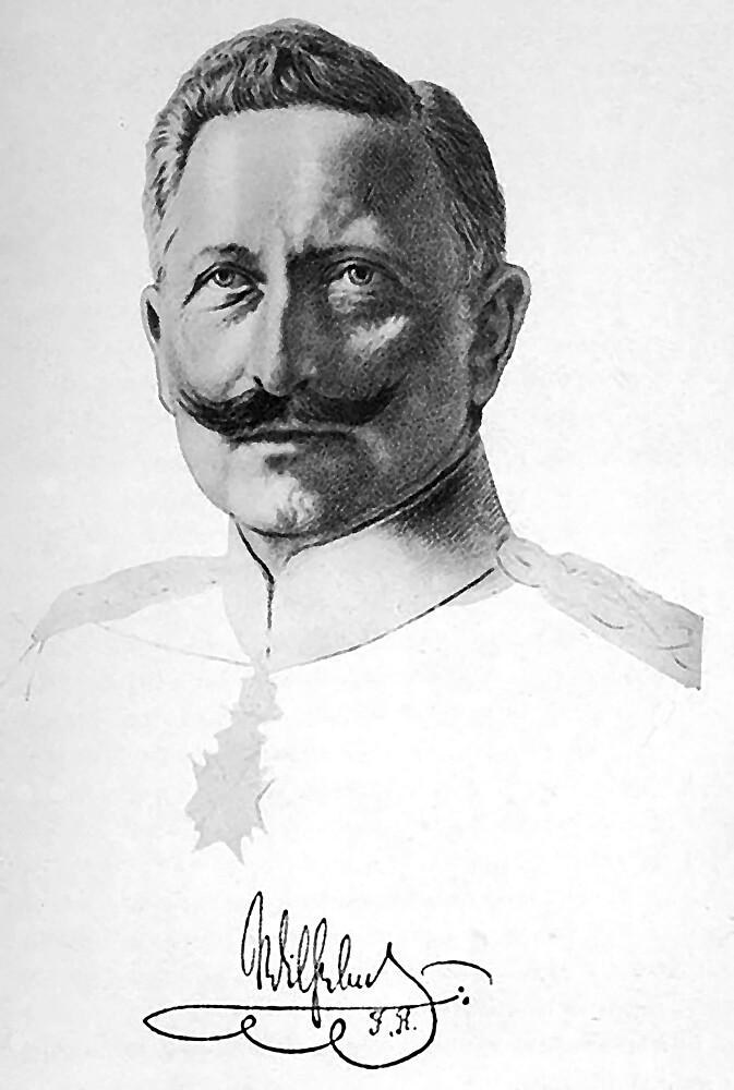 Kaiser Wilhelm II Auutograph by edsimoneit