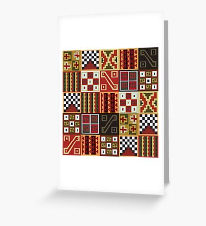 Tocapu II Greeting Card