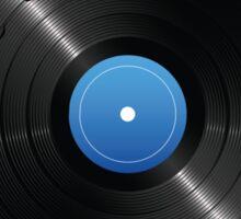 33 Vinyl Record Music Notes Sticker