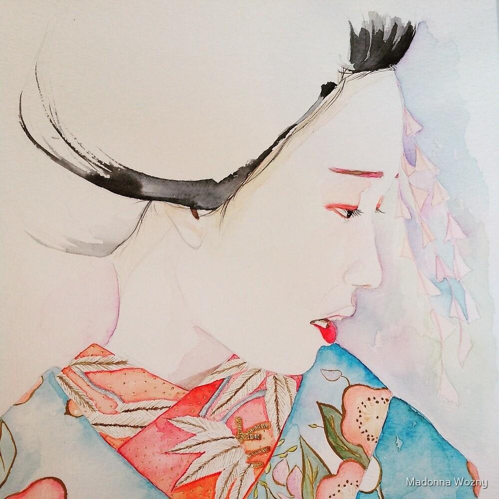 Sakura Maiko  by Madonna Wozny