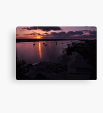 Sunrise from Mantazas Pass, As Is Canvas Print