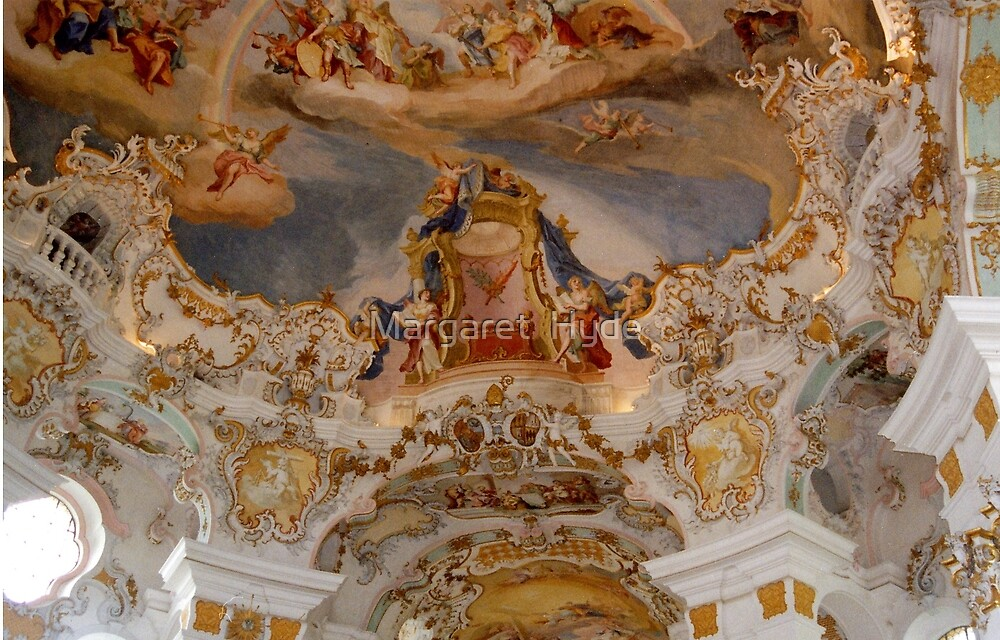 Weiskirke, Weis, Bavaria, Germany by Margaret  Hyde