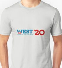 Camiseta unisex Kanye West para el Presidente 2020