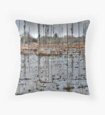 Alabama Swamp Throw Pillow