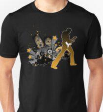 Classic Rock Guitar Player Unisex T-Shirt