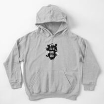 I'll Be Right Back Kids Pullover Hoodie