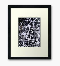 Water Series - Black Water Fine Art Print Framed Print