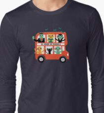 Spooky Bus Long Sleeve T-Shirt