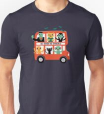 Spooky Bus Slim Fit T-Shirt