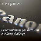 a love of canon by Dean Messenger