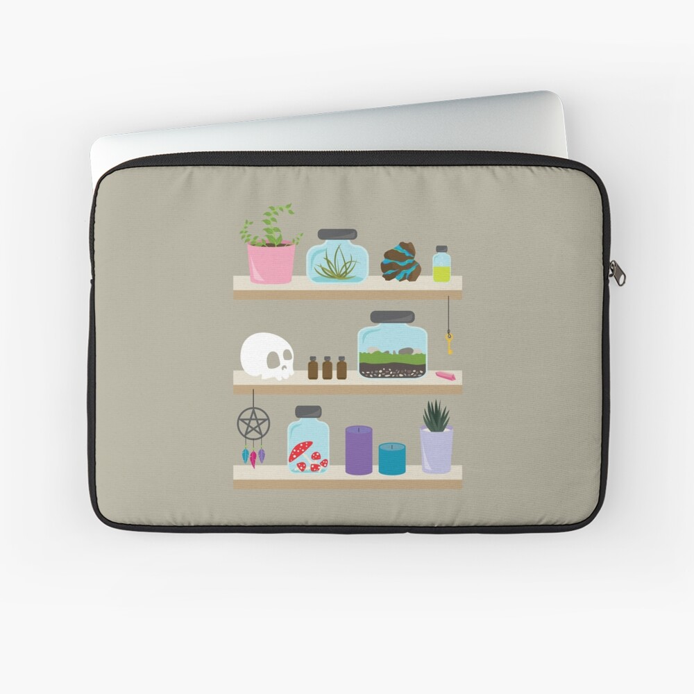 Witch Shelves, The Other Wall Laptop Sleeve