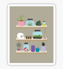 Witch Shelves, The Other Wall Glossy Sticker