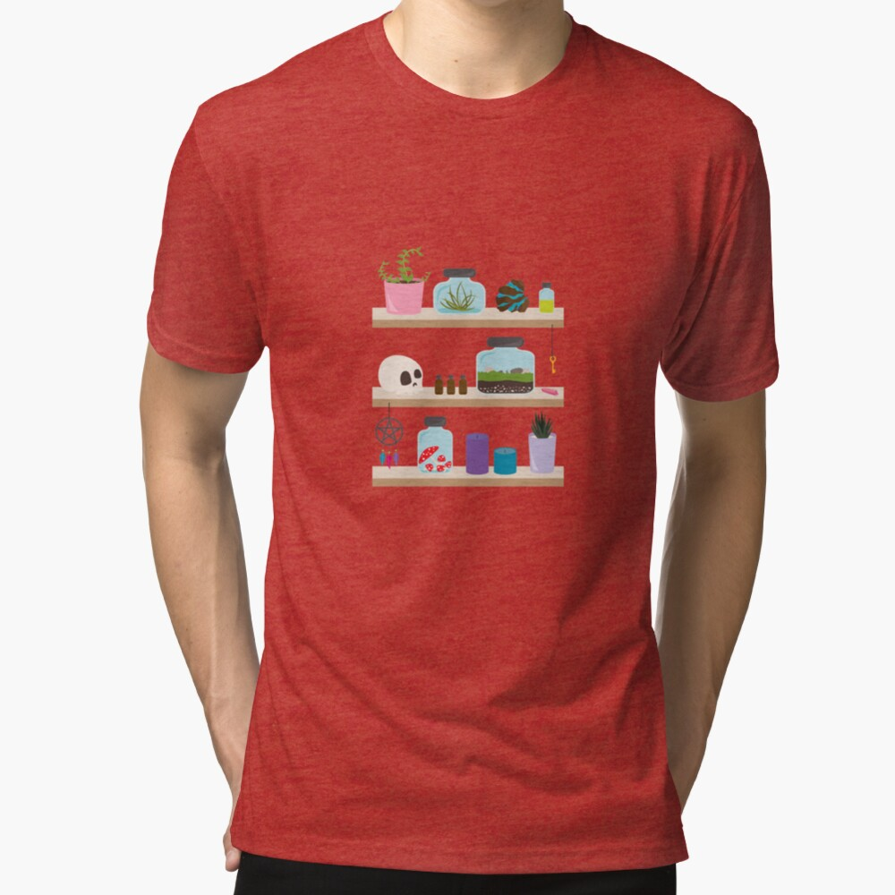 Witch Shelves, The Other Wall Tri-blend T-Shirt