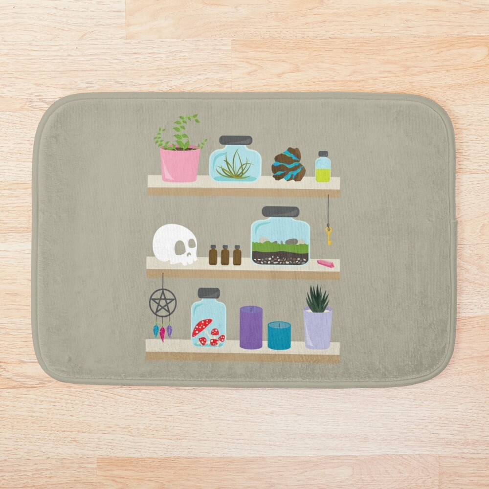 Witch Shelves, The Other Wall Bath Mat