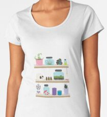 Witch Shelves, The Other Wall Premium Scoop T-Shirt