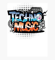 Techno Music Photographic Print