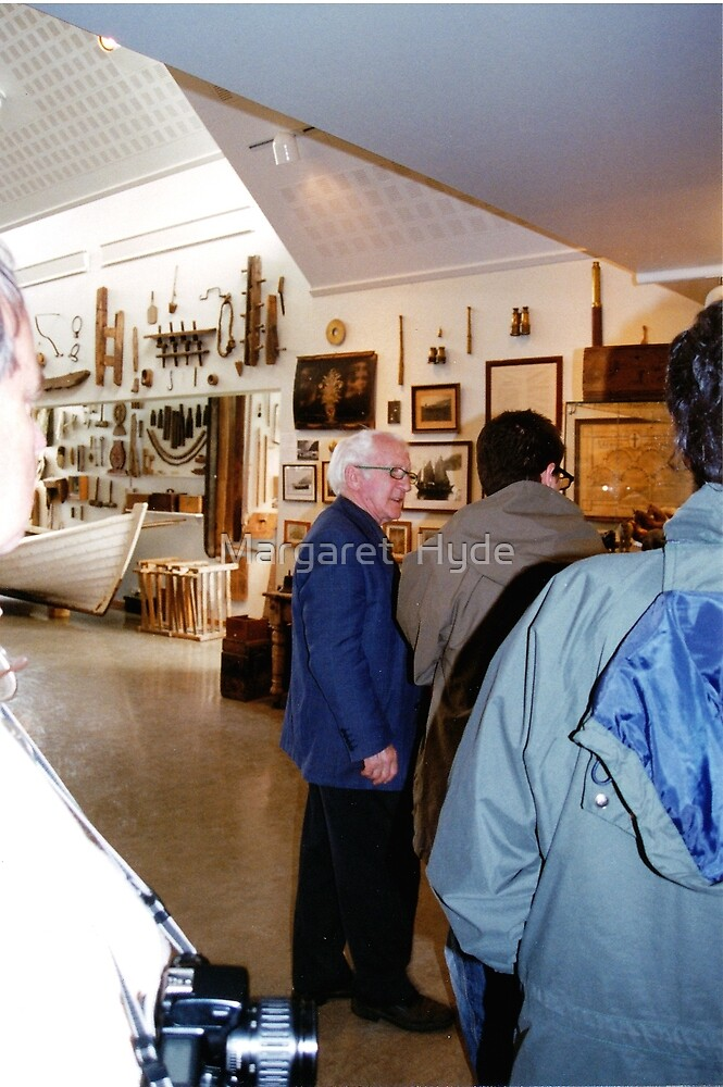 curator, Skogar Museum, Iceland by Margaret  Hyde