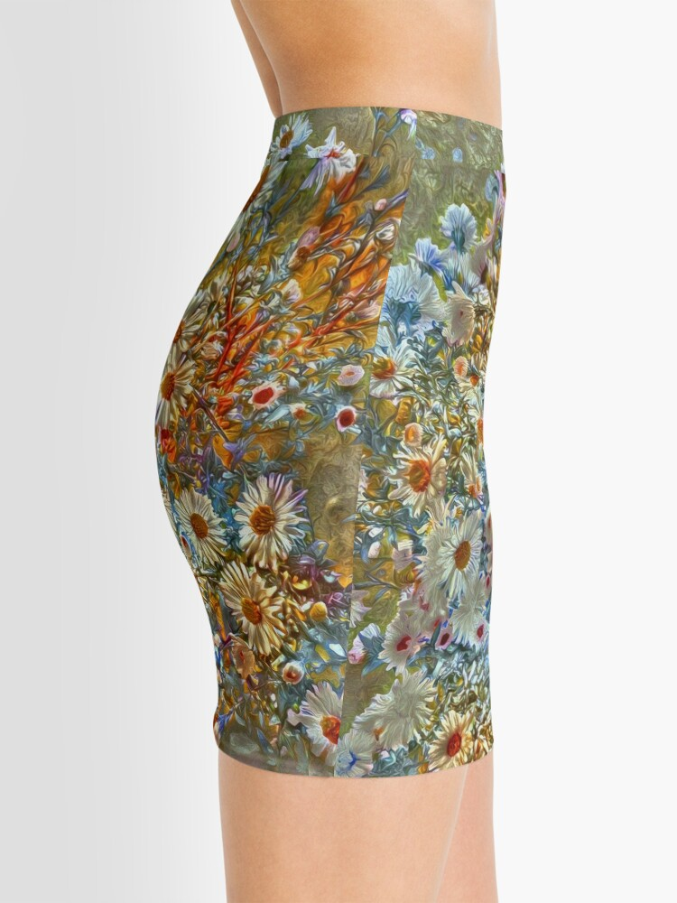 Alternate view of Flowers Mini Skirt