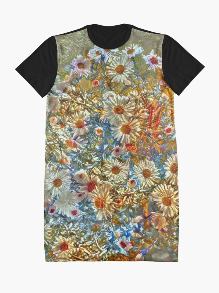 Alternate view of Flowers Graphic T-Shirt Dress