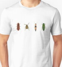 Four Beetles Unisex T-Shirt