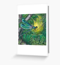 """Dragonfly Dreaming"" Greeting Card"