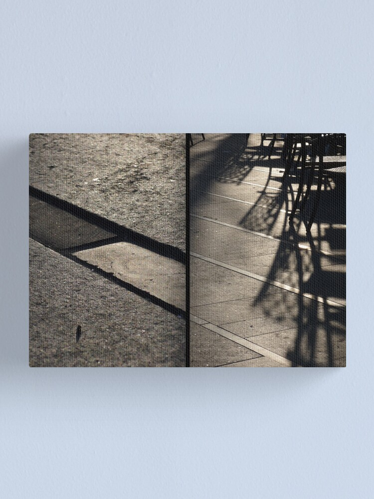 Alternate view of Morning at Heuvel (diptych) Canvas Print
