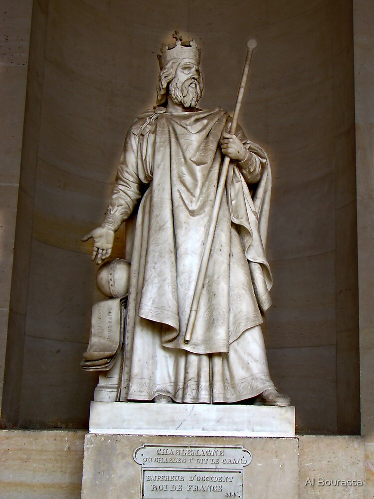 Charlemagne, Charles The Great by Al Bourassa