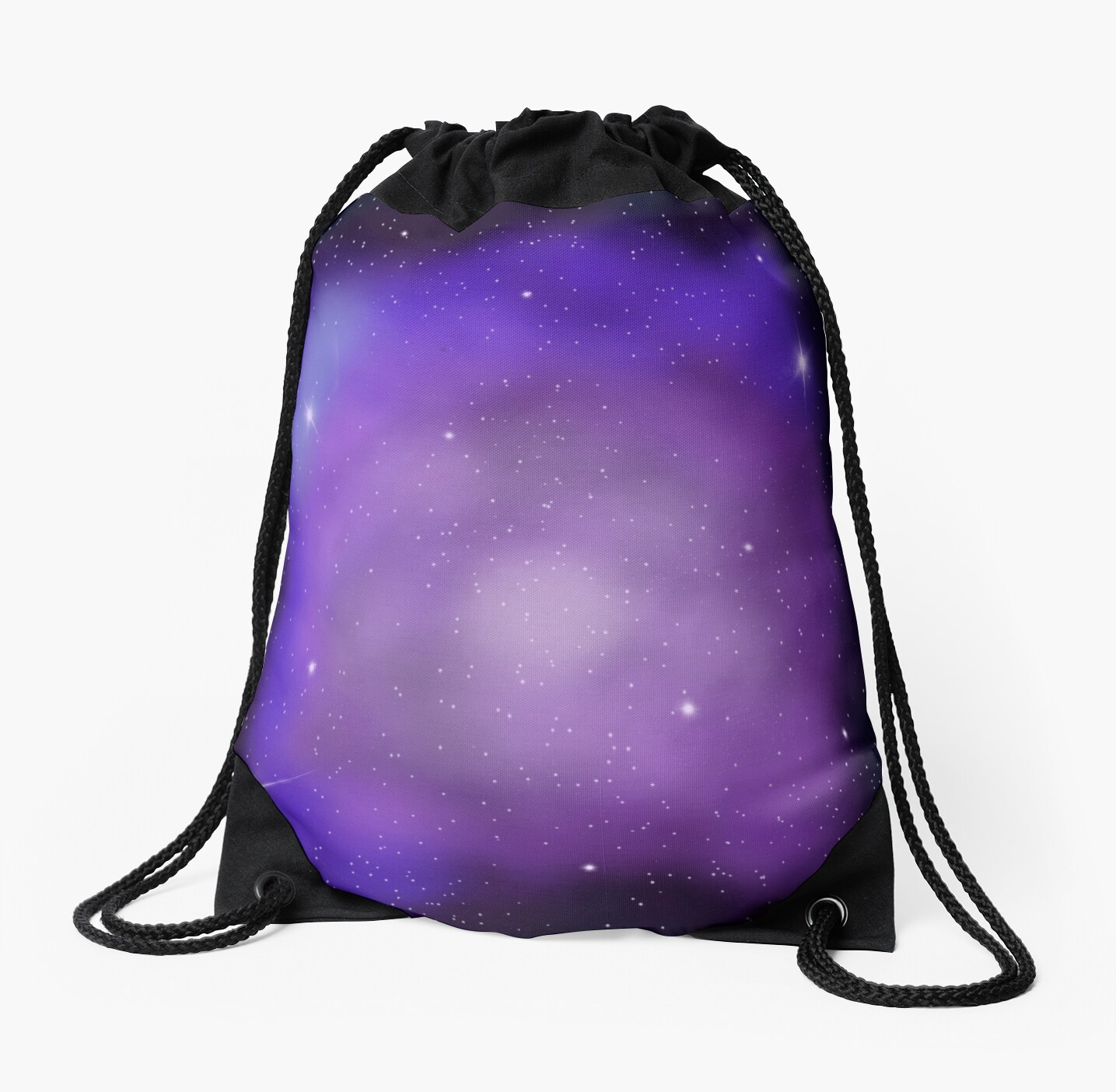 Purple & Blue Space Nebula Galaxy by Lightful Foxtrot