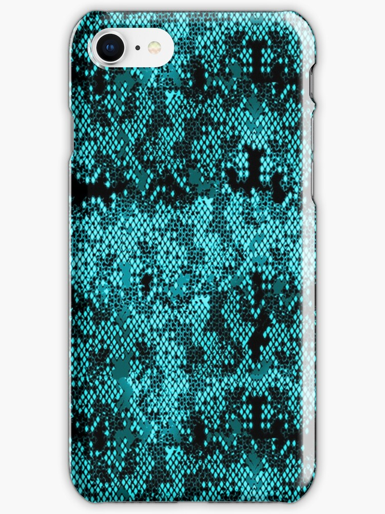 Turquoise Snakeskin Look  by Greenbaby