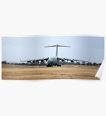 Waiting for clearance. C-17 Poster