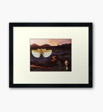 M Blackwell - The Sentinels of Sunset Ridge Framed Print