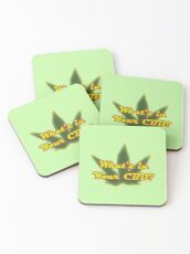 Whats in your CBD? Coasters