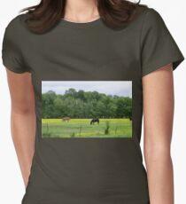 Pastureland Women's Fitted T-Shirt