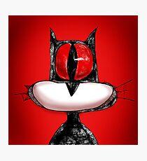 Hellcat ... formal portrait Photographic Print