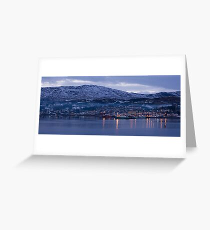 killybegs dusk Greeting Card