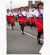 The Ladies from Rivington North West Morris. Poster