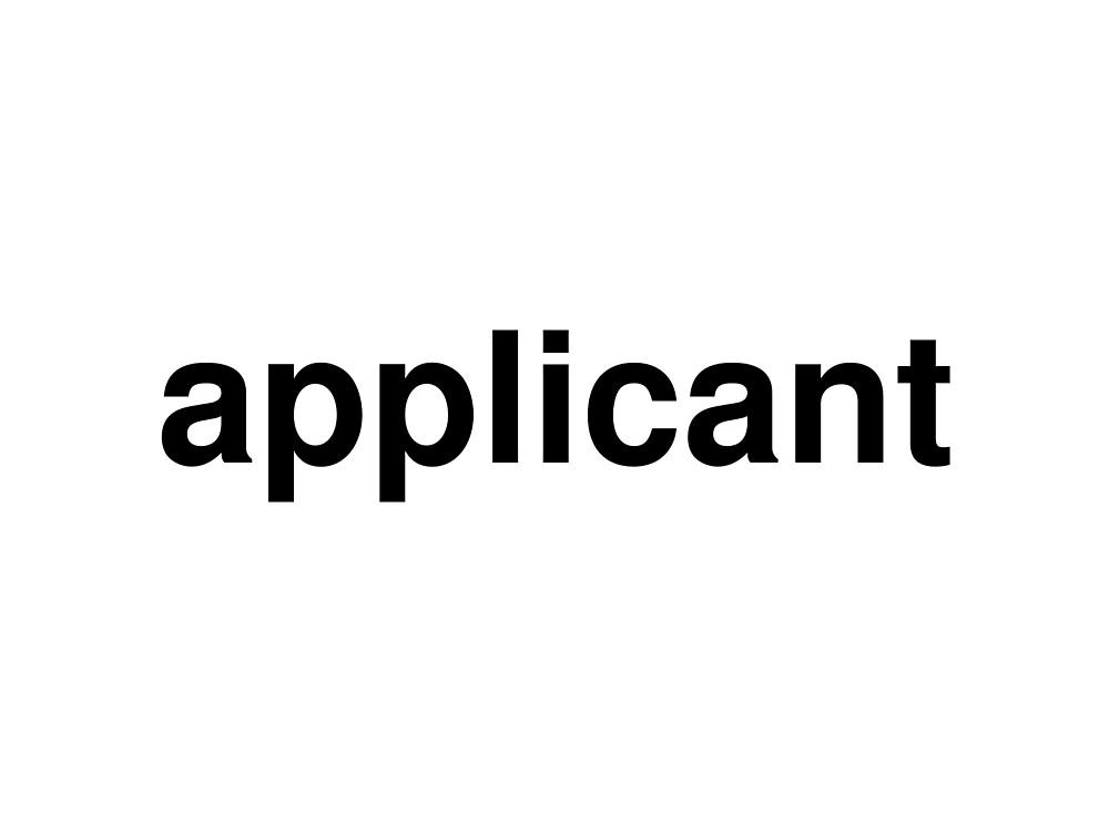 applicant by ninov94