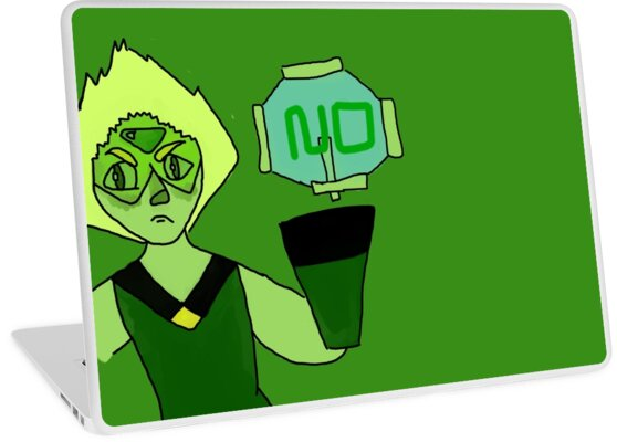 Peridot Says No by prucanada