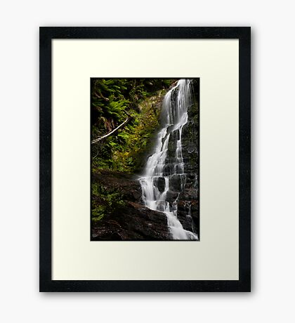 Nelson Falls Framed Art Print