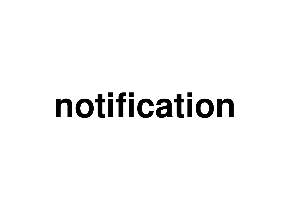 notification by ninov94