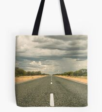 We're on a Road to Nowhere Tote Bag