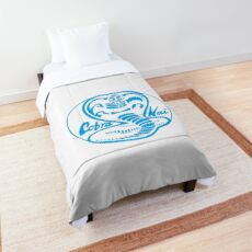 Cobra Kai Blue Comforter
