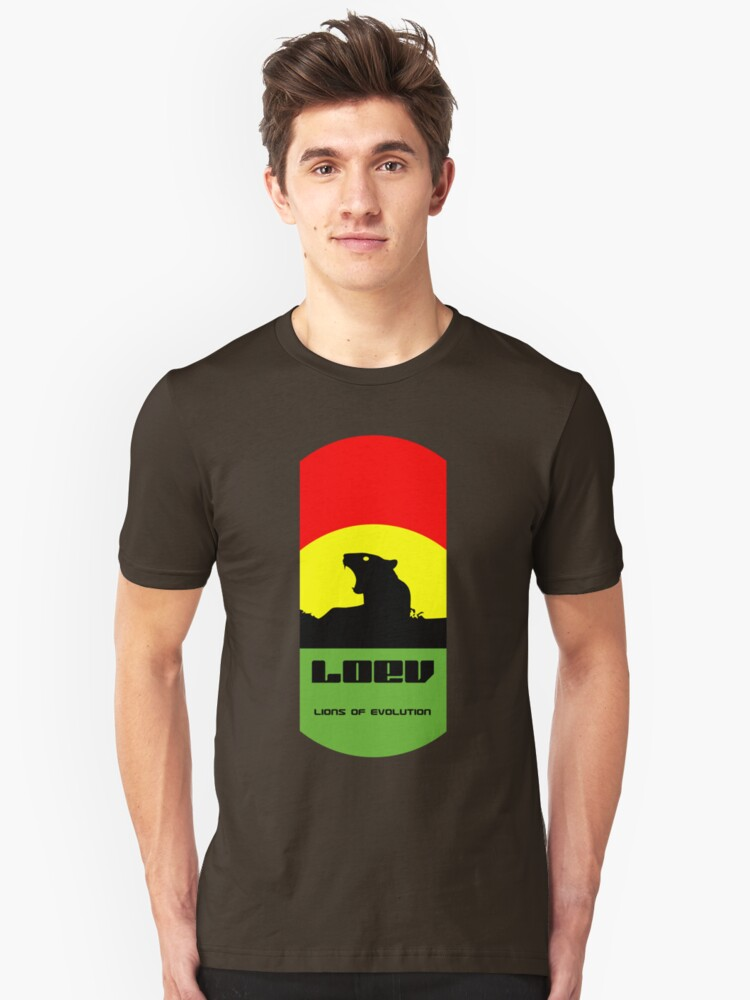 LOEV: Lions of Evolution Logo Hoody (also avail as a tshirt, sticker, kids clothes) by sublimekesel