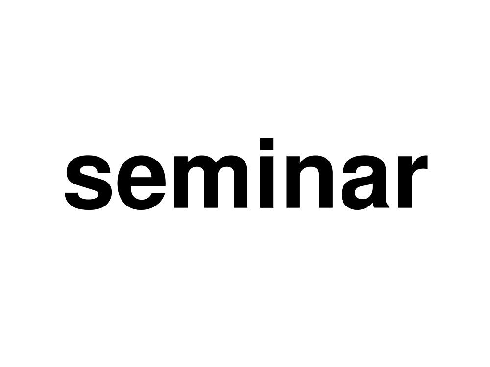 seminar by ninov94