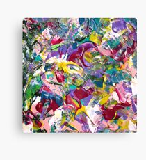 Abstract Floral Artwork  Canvas Print
