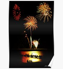 Fireworks Beach Festival, Busselton Poster