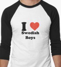 I love (heart) Swedish Boys T-Shirt