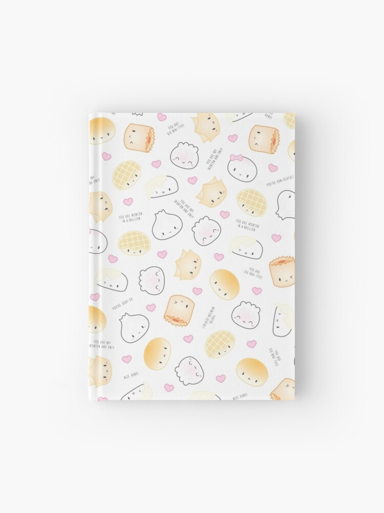 Cute Dimsum Puns | Hardcover Journal