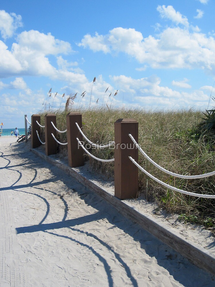 Walking to the Beach by Rosie Brown